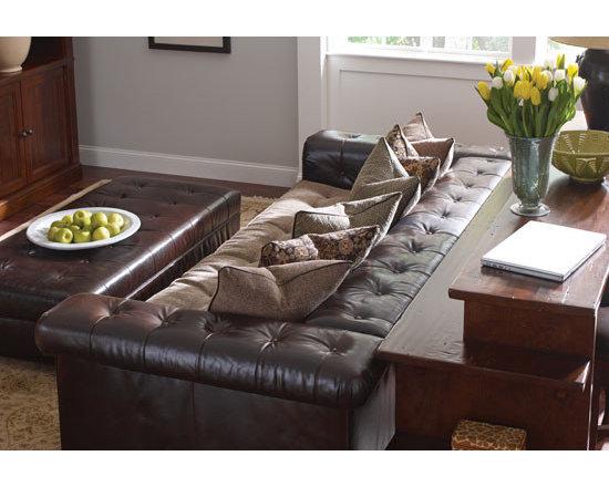 Decadent Avenue Living Rooms - Stickley Chicago sofa