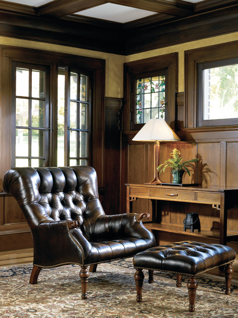 Beau Stickley Leopoldu0027s Chair Traditional Living Room