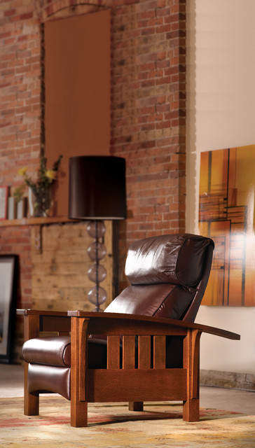 Swell Stickley Morris Recliner Traditional Living Room Dc Machost Co Dining Chair Design Ideas Machostcouk