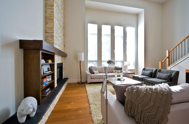 Sticks and Stones Design Group Inc. traditional-living-room