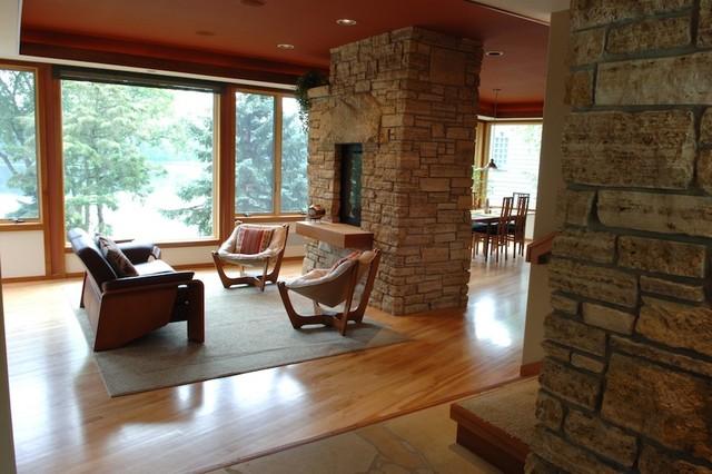 Stillwater Prairie Style Modern Living Room