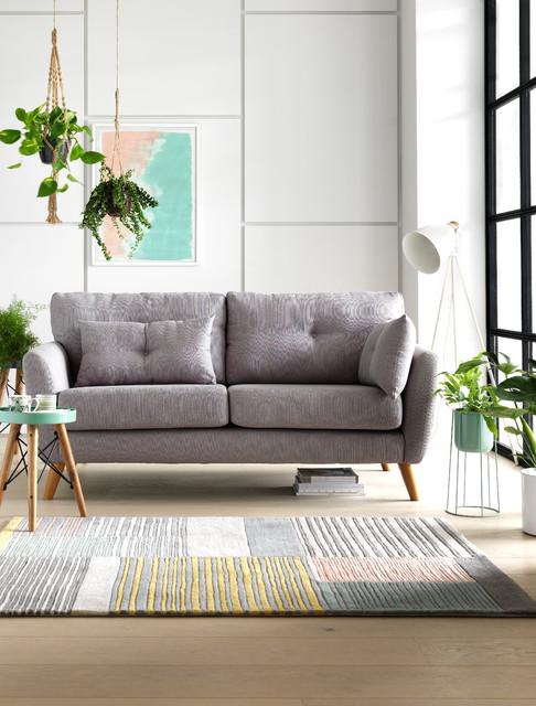 Stockholm Spring Lounge Scandinavian Living Room West