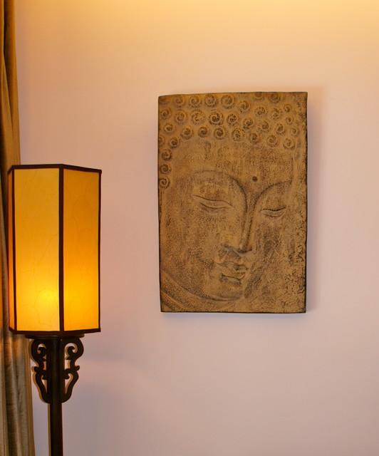 Stone buddha wall art for Buddha wall art