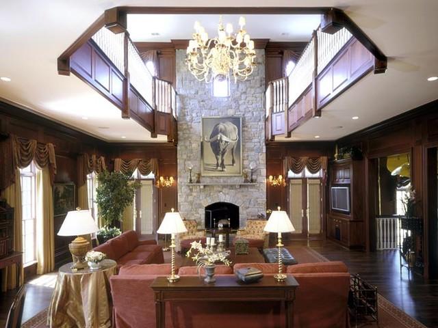 Stone Estate contemporary-living-room