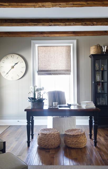 Stone Farmhouse Transitional Living Room Toronto By Lemontree Co Interiors