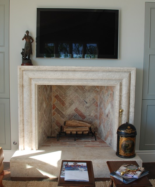 Stone Fireplace Mantels living-room