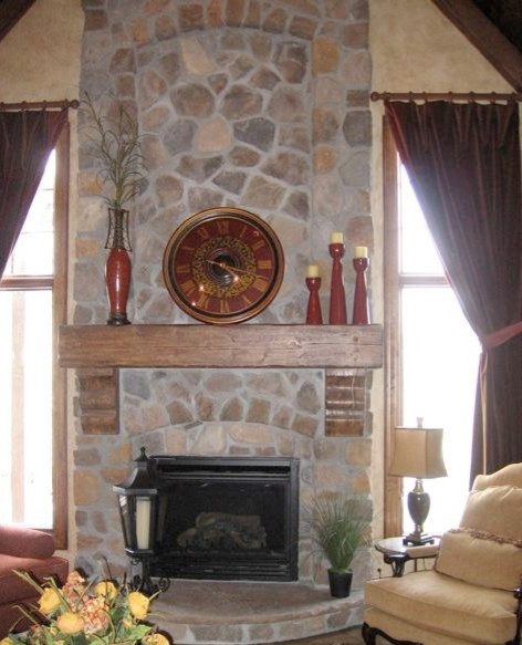 13 Foxley St: Stone Fireplaces