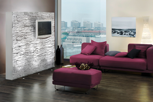 Stone Look Feature Wall Stone Design Pegasus Series Light