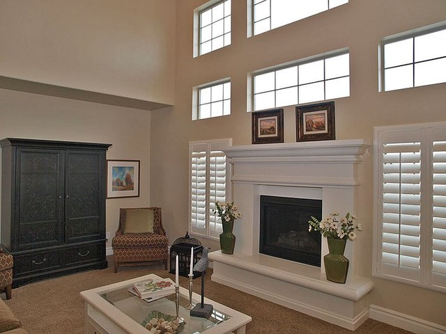 Stone Mountain Castings Fireplace Mantels Traditional Living Room Salt Lake City By
