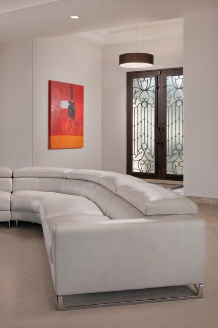 Hardie-Brown / Cale contemporary-living-room