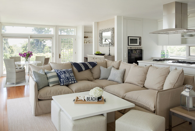 Stonewall Beach Residence Beach Style Living Room Other Metro By Martha 39 S Vineyard