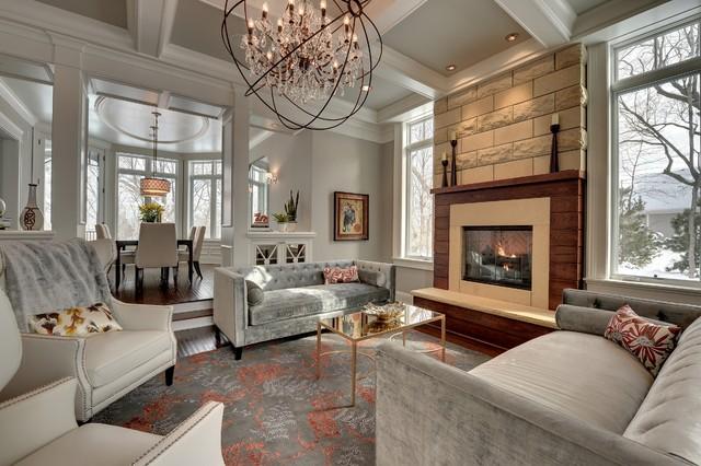 STONEWOOD, LLC   Private Residence   Orono, Minnesota Traditional Living  Room Part 83