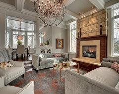 STONEWOOD, LLC - Private Residence - Orono, Minnesota traditional-living-room