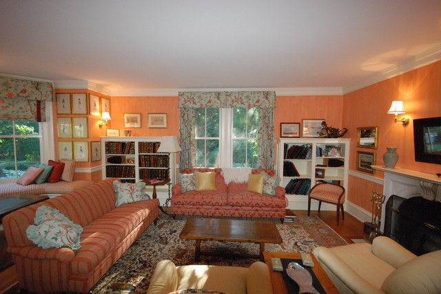 Storage Solutions traditional-living-room