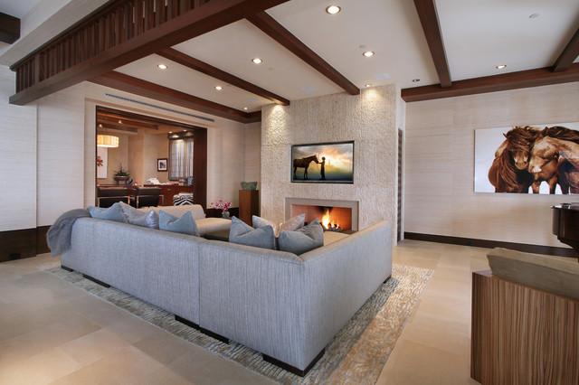 Strand Beach contemporary-living-room