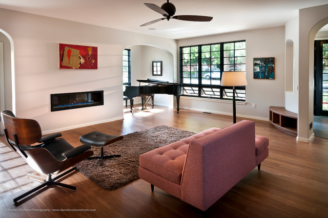 Streamline modern retro house highlands denver co for 1950s minimalist house