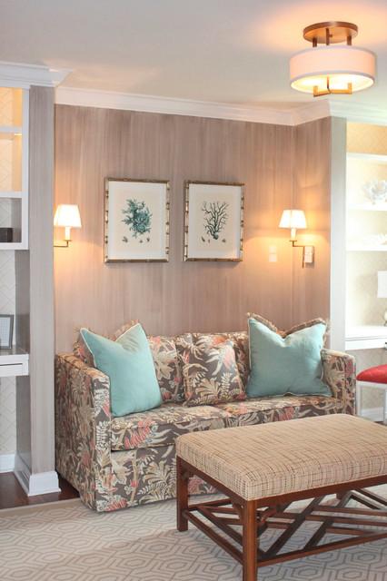 Strie'd Den traditional-living-room