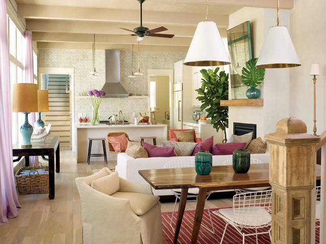 Structures Building Company - Tropical - Living Room - Charleston ...