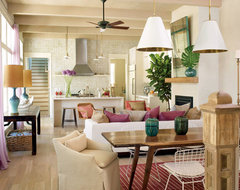 Structures Building Company tropical-living-room