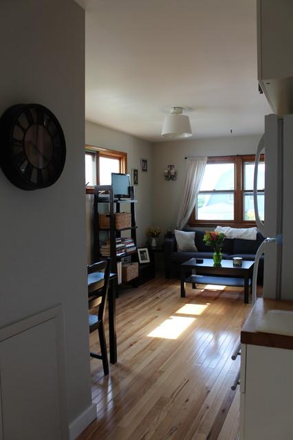 Studio Apartment Modern Living Room Philadelphia