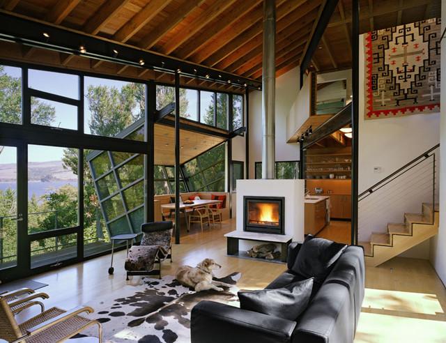 STUDIOS architecture modern-living-room