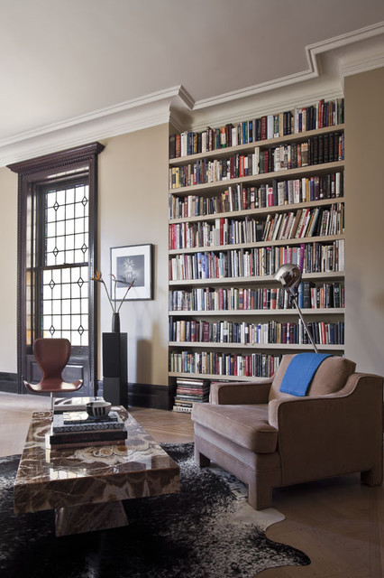 Living Room Study: Transitional