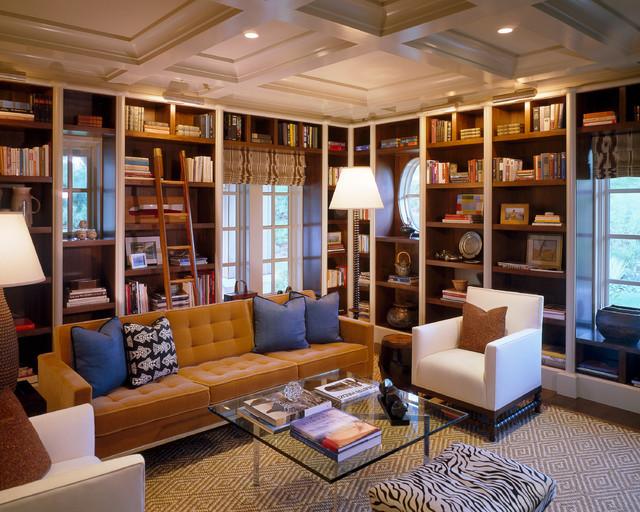 Built In Bookshelves In Small Living Room