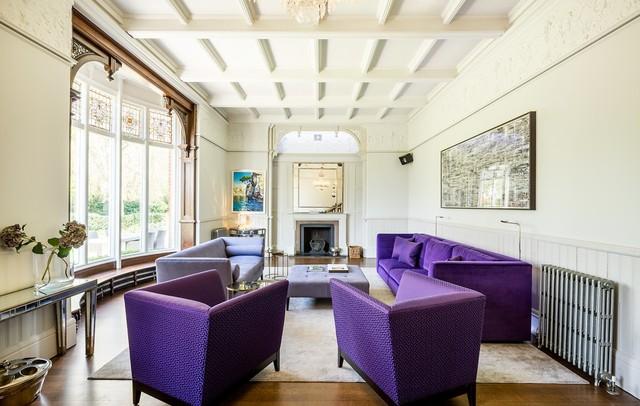 Stunning country house renovation contemporaneo angolo for Angolo colazione contemporaneo