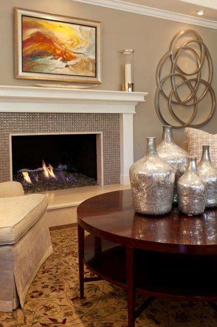 Santa Ana traditional-living-room