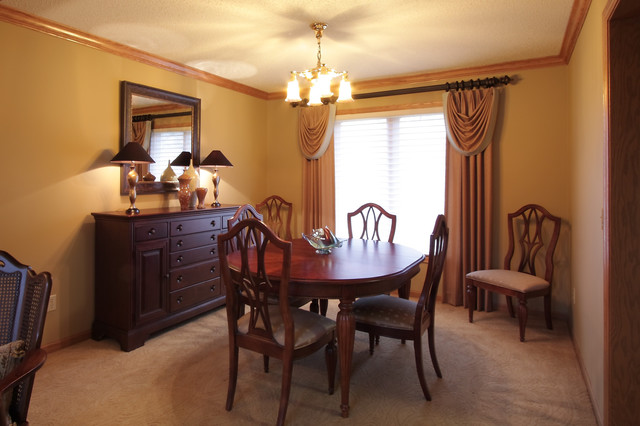 Stylish, Comfortable, & Sophisticated Dining Room traditional-living-room