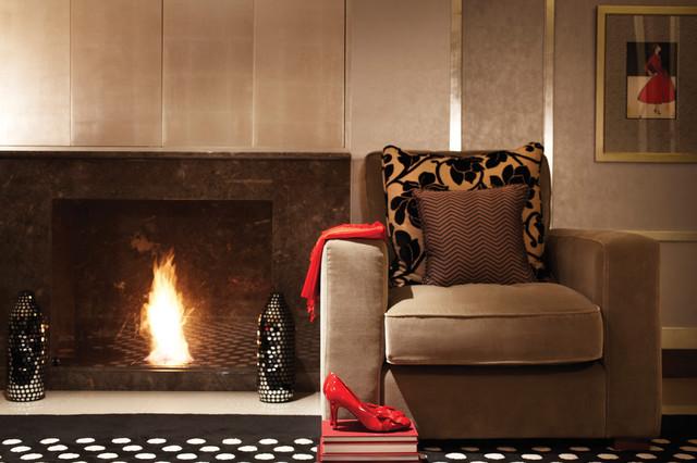 Suite Dreams contemporary-living-room