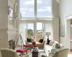 Summer Home on Martha's Vineyard contemporary-living-room
