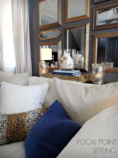 SUMMER LIVING ROOM - RENTAL ReSTYLE AZ 2013 beach-style-living-room