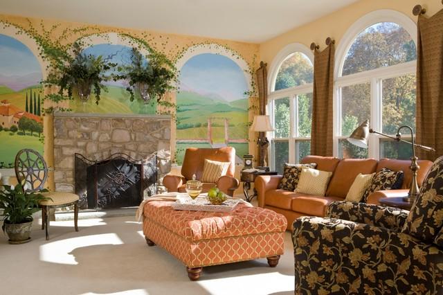 Emejing Living Room Murals Ideas - Decorating Ideas ...