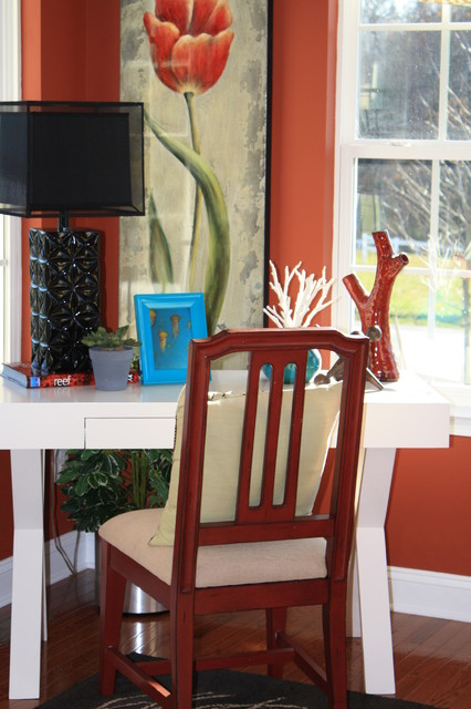 Sun room soaked in color eclectic-living-room