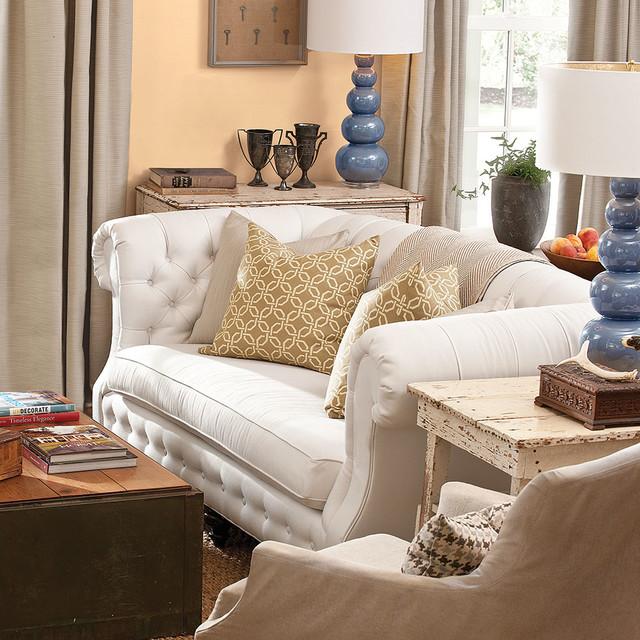 Sunbrella Fabrics traditional-living-room