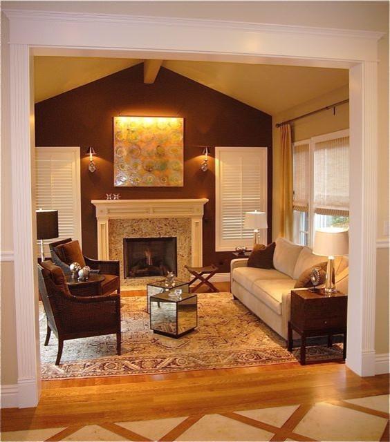 Sunken Living Room Eclectic
