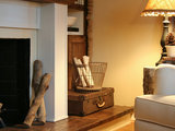 traditional living room The Enduring Appeal of the Egg Basket (5 photos)