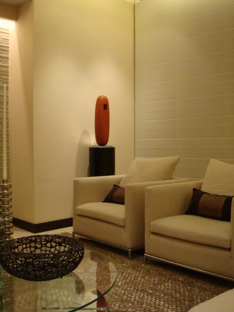 Sunny Isles Beach, FL contemporary-living-room