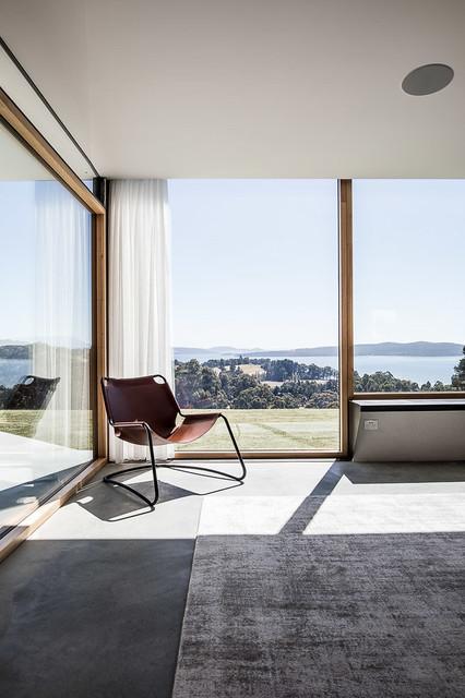 Sunnybanks House Contemporary Living Room Hobart