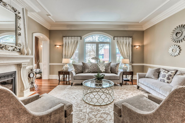 Gorgeous House In Leaside Area Contemporary Living Room Toronto By Sh