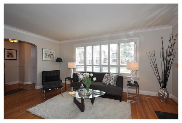 Sunnylea Project Etobicoke On Modern Living Room