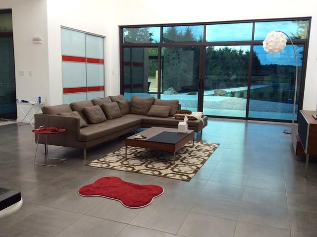 Sunrise in Martinsburg, WV contemporary-living-room
