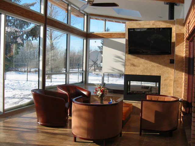 Sunroom Addition - Modern - Living Room - other metro - by ...