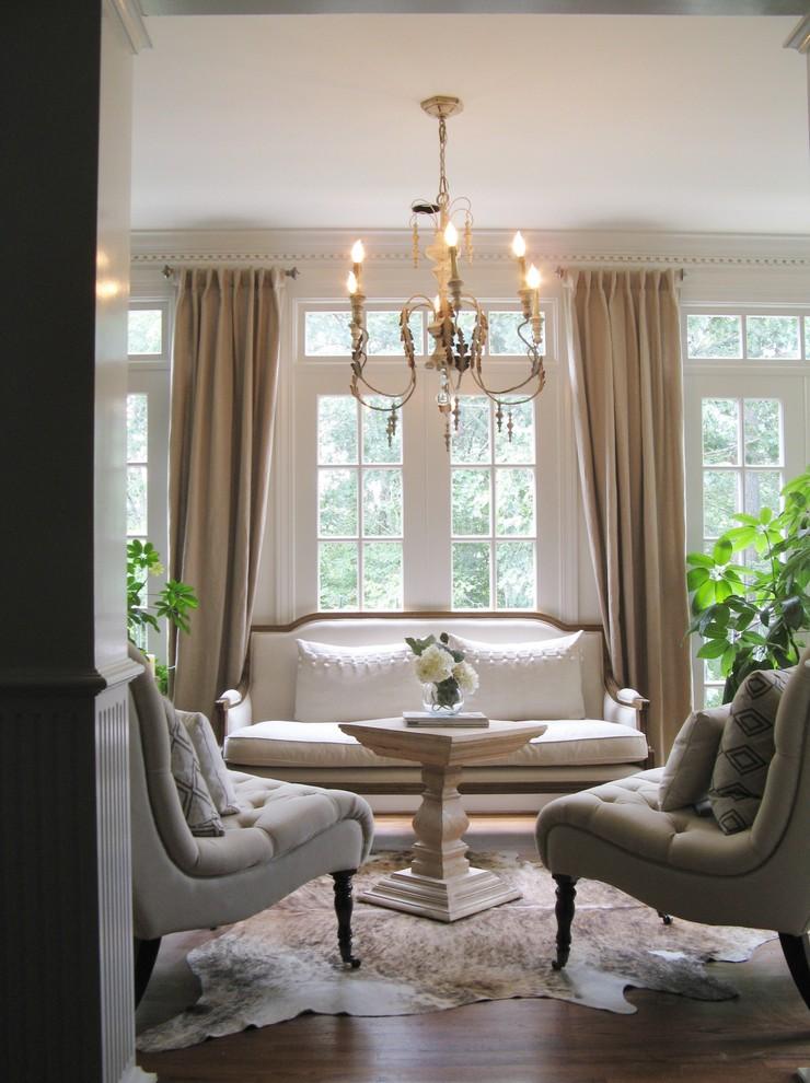 Living room - victorian living room idea in DC Metro