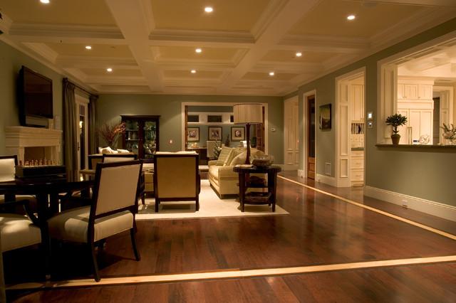 Sunset House Covenant Hills craftsman-living-room