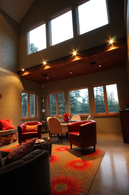 SUNSET ROAD contemporary-living-room