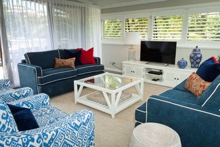 Sunshine Coast Holiday Home Beach Style Living Room Sunshine Coast By Erica Fanning