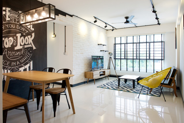 Sunshine Garden 4 Room BTO Industrial Living Singapore By OMUS