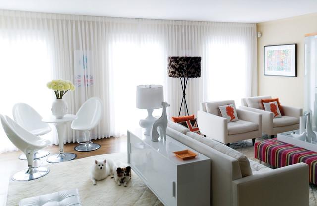 Supon Phornirunlit/ Naked Decor contemporary-living-room